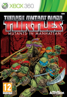 """Teenage Mutant Ninja Turtles: Mutants in Manhattan"" (2016) XBOX360-COMPLEX"