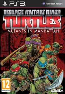 """Teenage Mutant Ninja Turtles: Mutants in Manhattan"" (2016) PS3-DUPLEX"