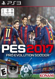 """Pro Evolution Soccer 2017"" (2016) PS3-DUPLEX"