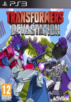 """Transformers: Devastation"" (2015) PS3-DUPLEX"